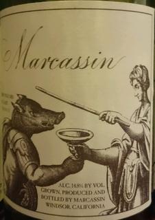 Marcassin Marcassin Vineyard Chardonnay(マーカッシン マーカッシン・ヴィンヤード シャルドネ)