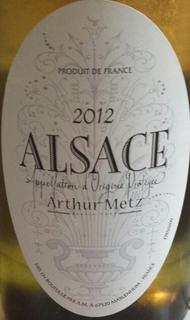 Arthur Metz Alsace
