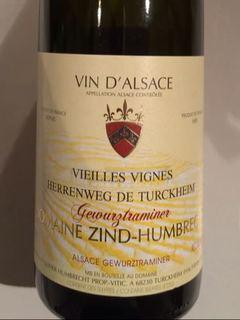 Dom. Zind Humbrecht Herrenweg de Turckheim Gewürztraminer Vieilles Vignes
