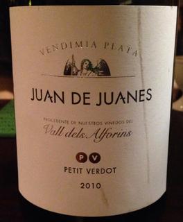 Juan de Juanes Plata Petit Verdot