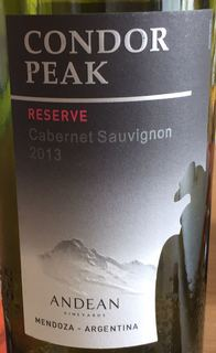 Condor Peak Reserve Cabernet Sauvignon