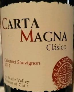 Carta Magna Clàsico Cabernet Sauvignon