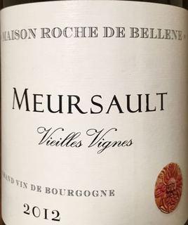 Maison Roche de Bellene Meursault Vieilles Vignes
