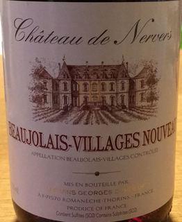 Ch. de Nervers Beaujolais Villages Nouveau