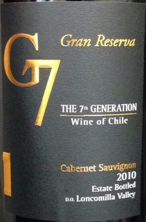 G7 The 7th Generation Gran Reserva Chardonnay