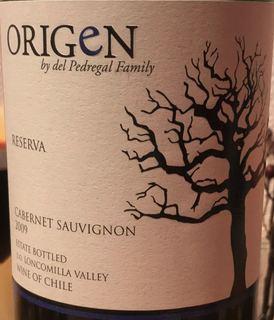 Origen Reserva Cabernet Sauvignon