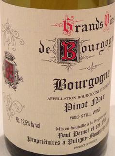 Paul Pernot et Ses Fils Bourgogne Rouge