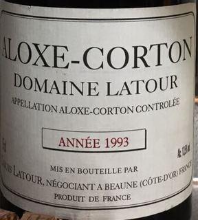 Dom. Latour Aloxe Corton