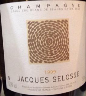 Jacques Selosse Grand Cru Blanc de Blancs Extra Brut