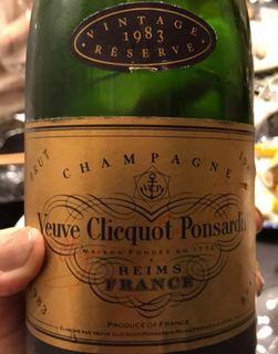 Veuve Clicquot Ponsardin Vintage Réserve Brut