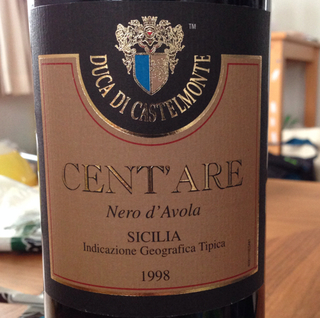 Duca di Castelmonte Cent'Are Nero d'Avola