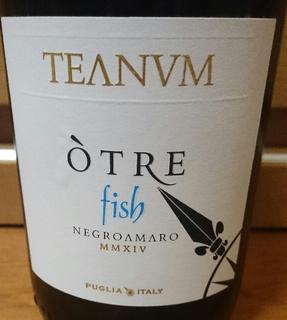 Teanum Otre Negroamaro Fish