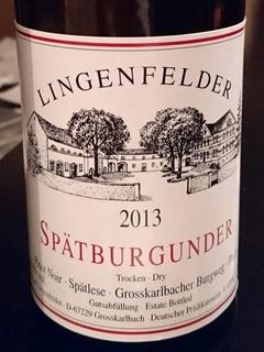 Lingenfelder Spätburgunder