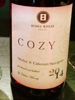 Heidee Winery Cozy Merlot Cabernet Sauvignon
