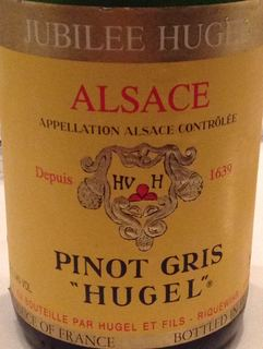 Hugel Pinot Gris Jubilee Hugel