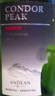 Condor Peak Reserve Chardonnay