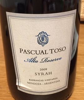 Pascual Toso Alta Reserve Syrah
