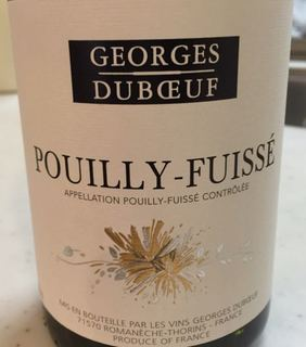 Georges Duboeuf Pouilly Fuissé
