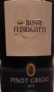 Masi Bossi Fedrigotti Pinot Grigio
