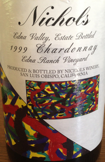 Nichols Edna Valley Chardonnay Edna Ranch Vineyard