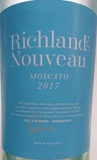 Richland Nouveau Moscato(リッチランド ヌーボー モスカート)