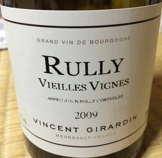 Vincent Girardin Rully Vieilles Vignes Blanc