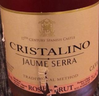 Jaume Serra Cristalino Cava Brut Rose