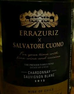 Errazuriz × Salvatore Cuomo Chardonnay Sauvignon Blanc
