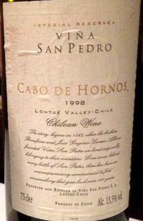 San Pedro Cabo de Hornos Special Reserve