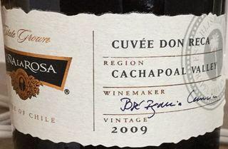 Viña La Rosa Cuvée Don Reca Rouge