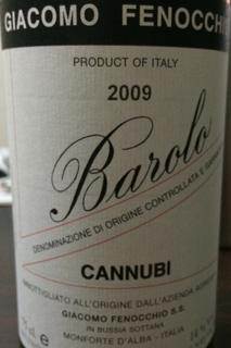 Giacomo Fenocchio Barolo Cannubi