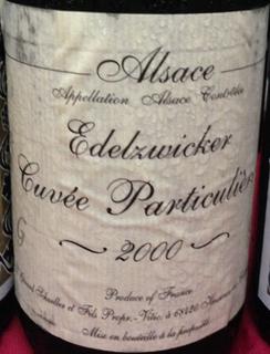 Gérard Schueller Alsace Edelzwicker Cuvée Particulière
