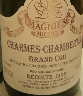 Dom. Michel Magnien Charmes Chambertin Grand Cru