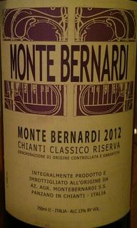 Monte Bernardi Chianti Classicoo Riserva