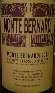 Monte Bernardi Chianti Classicoo Riserva(モンテ・ベルナルディ キャンティ・クラシッコ リゼルヴァ)