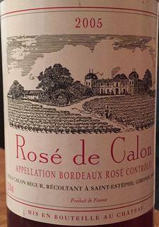 Rosé de Calon