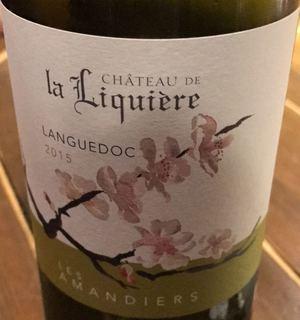 Ch. de la Liquière Les Amandiers Blanc(シャトー・ド・ラ・リクイエール レ・ザマンディエ ブラン)
