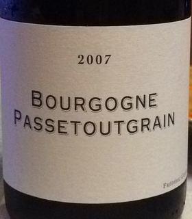 Frédéric Cossard Bourgogne Passetoutgrain