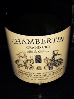 Ch. de Marsannay Chambertin Grand Cru(シャトー・デュ・マルサネ シャンベルタン グラン・クリュ)