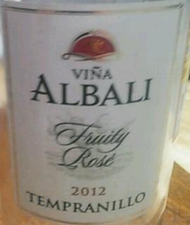 Viña Albali Fruity Rosé Tempranillo