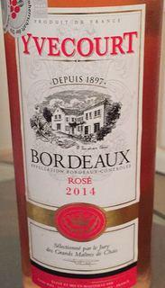 Yvecourt Bordeaux Rosé