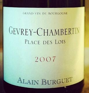 Alain Burguet Gevrey Chambertin Place des Lois