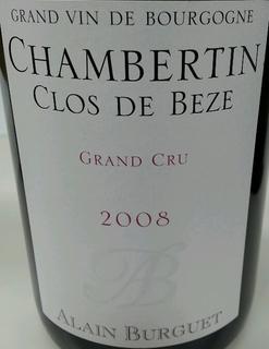 Alain Burguet Chambertin Clos de Beze Grand Cru