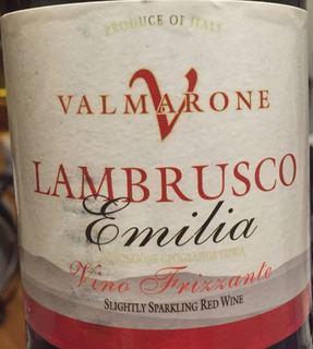Valmarone Lambrusco Emilia Vino Frizzante