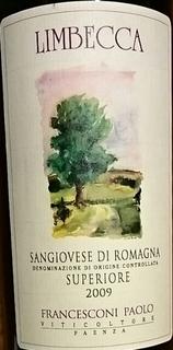 Francesconi Paolo Limbecca Sangiovese di Romagna Superiore