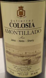 Gutiérrez Colosia Amontillado Seco