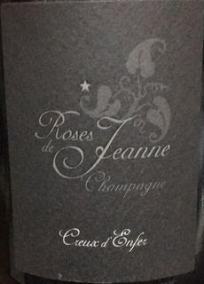 Roses de Jeanne Creux d'Enfer