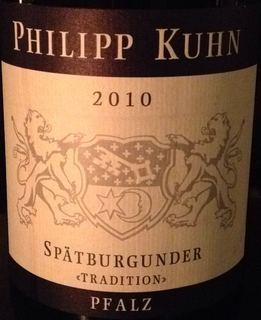 Philipp Kuhn Spätburgunder Tradition(フィリップ・クーン シュペートブルグンダー トラディション)