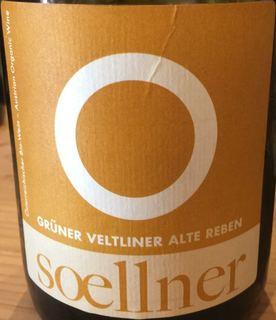 Soellner Grüner Veltliner Alte Reben(ゼルナー グリューナー・フェルトリーナー アルテ・レーベン)