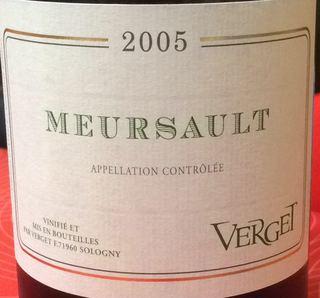 Verget Meursault